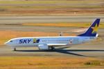 timeさんが、羽田空港で撮影したスカイマーク 737-8Q8の航空フォト(写真)