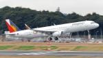 誘喜さんが、成田国際空港で撮影したフィリピン航空 A321-231の航空フォト(写真)