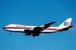トロピカルさんが、成田国際空港で撮影したユナイテッド航空 747-122の航空フォト(写真)