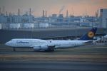 pepeA330さんが、羽田空港で撮影したルフトハンザドイツ航空 747-830の航空フォト(写真)