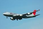 フリューゲルさんが、成田国際空港で撮影した日本航空 747-446F/SCDの航空フォト(写真)