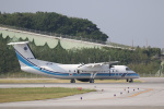 チャッピー・シミズさんが、那覇空港で撮影した海上保安庁 DHC-8-315 Dash 8の航空フォト(写真)
