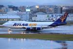 板付蒲鉾さんが、福岡空港で撮影したアトラス航空 747-446の航空フォト(写真)