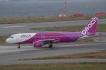 YWさんが、関西国際空港で撮影したピーチ A320-214の航空フォト(写真)