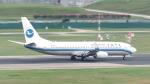 誘喜さんが、シンガポール・チャンギ国際空港で撮影した厦門航空 737-85Cの航空フォト(写真)