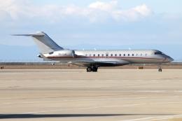 KAKOさんが、中部国際空港で撮影したビスタジェット BD-700-1A10 Global 6000の航空フォト(写真)