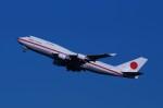 たなしんさんが、羽田空港で撮影した航空自衛隊 747-47Cの航空フォト(写真)