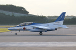 チャッピー・シミズさんが、那覇空港で撮影した航空自衛隊 T-4の航空フォト(写真)