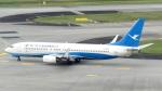 誘喜さんが、シンガポール・チャンギ国際空港で撮影した厦門航空 737-86Nの航空フォト(写真)