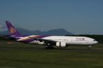 hachiさんが、新千歳空港で撮影したタイ国際航空 777-2D7の航空フォト(写真)