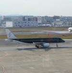 そのまんま南さんが、福岡空港で撮影したスターフライヤー A320-214の航空フォト(写真)