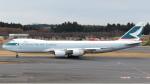 誘喜さんが、成田国際空港で撮影したキャセイパシフィック航空 747-867F/SCDの航空フォト(写真)