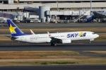 zettaishinさんが、羽田空港で撮影したスカイマーク 737-8HXの航空フォト(写真)
