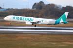 ぽんさんが、高松空港で撮影したエアソウル A321-231の航空フォト(写真)