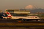 くるくもるさんが、羽田空港で撮影したブリティッシュ・エアウェイズ 747-436の航空フォト(写真)