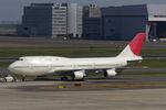 PINK_TEAM78さんが、羽田空港で撮影した日本航空 747-446Dの航空フォト(写真)