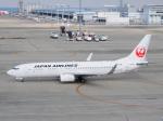 きゅうさんが、中部国際空港で撮影した日本航空 737-846の航空フォト(写真)