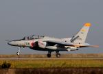 チャーリーマイクさんが、築城基地で撮影した航空自衛隊 T-4の航空フォト(写真)