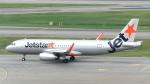 誘喜さんが、シンガポール・チャンギ国際空港で撮影したジェットスター・アジア A320-232の航空フォト(写真)