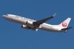 木人さんが、成田国際空港で撮影した日本航空 737-846の航空フォト(写真)