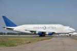タヌキさんが、台湾桃園国際空港で撮影したボーイング 747-4J6(LCF) Dreamlifterの航空フォト(写真)