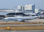 きゅうさんが、関西国際空港で撮影したキャセイパシフィック航空 A330-343Xの航空フォト(写真)