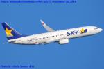 Chofu Spotter Ariaさんが、羽田空港で撮影したスカイマーク 737-8HXの航空フォト(写真)