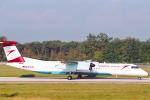 菊池 正人さんが、ジュネーヴ・コアントラン国際空港で撮影したオーストリアン・アローズ DHC-8-402Q Dash 8の航空フォト(写真)