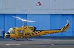 kaeru6006さんが、東京ヘリポートで撮影したアカギヘリコプター 204B-2(FujiBell)の航空フォト(写真)