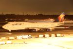 ハネヨンさんが、成田国際空港で撮影したデルタ航空 747-451の航空フォト(写真)