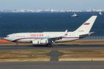 せぷてんばーさんが、羽田空港で撮影したロシア航空 Il-96-300の航空フォト(写真)