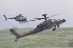 ばとさんが、東富士演習場で撮影した陸上自衛隊 AH-64Dの航空フォト(写真)