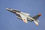 ヶローさんが、岐阜基地で撮影した航空自衛隊 T-4の航空フォト(写真)