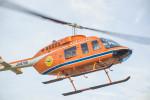 ヶローさんが、飯田へリポートで撮影した新日本ヘリコプター 206L-3 LongRanger IIIの航空フォト(写真)