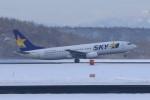オポッサムさんが、新千歳空港で撮影したスカイマーク 737-8HXの航空フォト(写真)