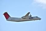 えるあ~るさんが、那覇空港で撮影した琉球エアーコミューター DHC-8-314 Dash 8の航空フォト(写真)