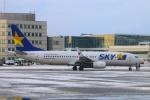 Kuuさんが、新千歳空港で撮影したスカイマーク 737-8HXの航空フォト(写真)