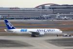 JA946さんが、羽田空港で撮影した全日空 767-381Fの航空フォト(写真)