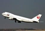 にしやんさんが、羽田空港で撮影した日本航空 747-246Bの航空フォト(写真)