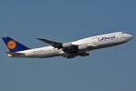 kansai-spotterさんが、フランクフルト国際空港で撮影したルフトハンザドイツ航空 747-830の航空フォト(写真)