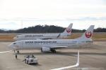 北の小人さんが、岡山空港で撮影した日本トランスオーシャン航空 737-446の航空フォト(写真)