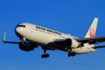 武彩航空公司(むさいえあ)さんが、成田国際空港で撮影した日本航空 767-346/ERの航空フォト(写真)