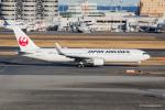 みなかもさんが、羽田空港で撮影した日本航空 767-346/ERの航空フォト(写真)