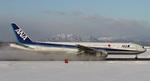 肉食獣さんが、新千歳空港で撮影した全日空 777-381の航空フォト(写真)