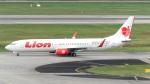 誘喜さんが、シンガポール・チャンギ国際空港で撮影したライオン・エア 737-9GP/ERの航空フォト(写真)