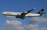 じゃがさんが、成田国際空港で撮影したルフトハンザドイツ航空 A340-313Xの航空フォト(写真)