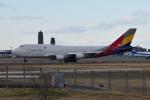 Timothyさんが、成田国際空港で撮影したアシアナ航空 747-446(BDSF)の航空フォト(写真)