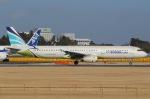 じゃがさんが、成田国際空港で撮影したエアプサン A321-131の航空フォト(写真)