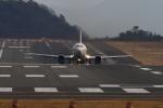 LeeFuuさんが、岡山空港で撮影した日本トランスオーシャン航空 737-446の航空フォト(写真)