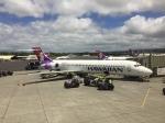 たっくん787さんが、ホノルル国際空港で撮影したハワイアン航空 717-22Aの航空フォト(写真)